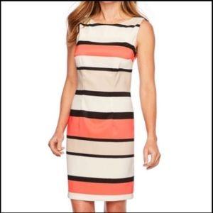 Alyx Limited Striped Tank Midi Sheath Dress